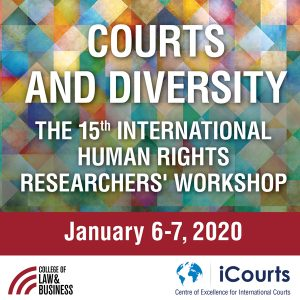 The 15th international Human Rights Researchers' Workshop: Courts and Diversity